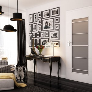 Drzwi wewnętrzne Simple. Biała klasyka. Fot. Pol-Skone.