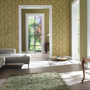 Tapeta w klasycznym stylu z serii Trianon. Fot. Rasch.