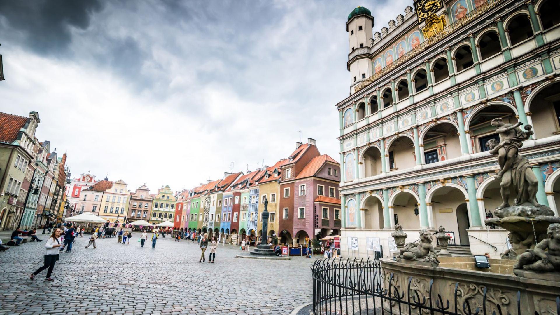 Rynek w Poznaniu. Fot. Poznań Design Days