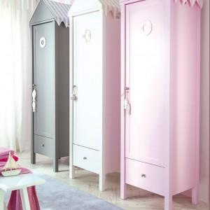 Oryginalne szafy dostępne są w trzech kolorach: białym, różowym i szarym. Fot. Annette Frank.