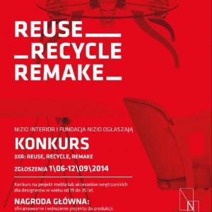 Konkurs dla projektantów - reuse, recycle, remake