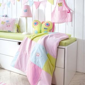 Używane przez markę tkaniny są produkowane specjalnie dla Annette Frank. Fot. Annette Frank.