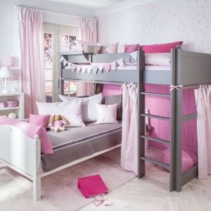 Aranżacja sypialni dla dwóch dziewczynek. Fot. Annette Frank.