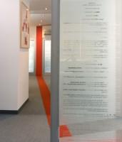 Projekt wnętrz i mebli Kancelarii Radców Prawnych Zdanowicz i Wspólnicy w Warszawie, architekt wnętrz Marta Dalecka.