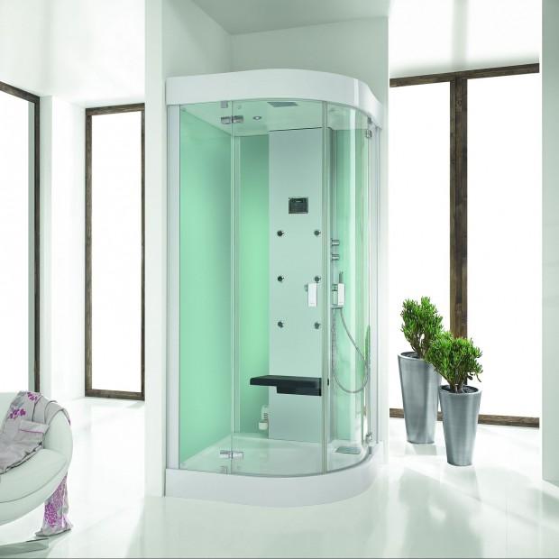 Półokrągłe kabiny do narożnika – najlepsze modele do małej łazienki