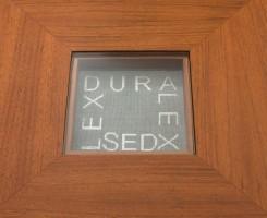 Projekt biurka do gabinetu w Kancelarii Radców Prawnych Zdanowicz i Wspólnicy w Warszawie, architekt wnętrz Marta Dalecka.