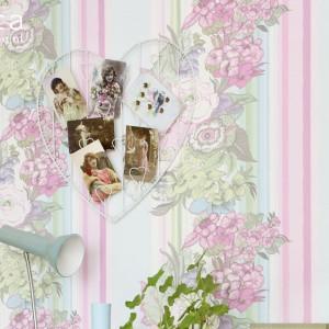 Subtelne pastelowe wzory kolekcji Pretty Nostalgic Esta Home. Fot. Esta Home.