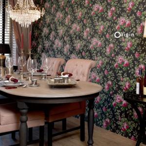 Angielska, stylowa kolekcja tapet Bloomingdale marki Origin. Fot. Origin.