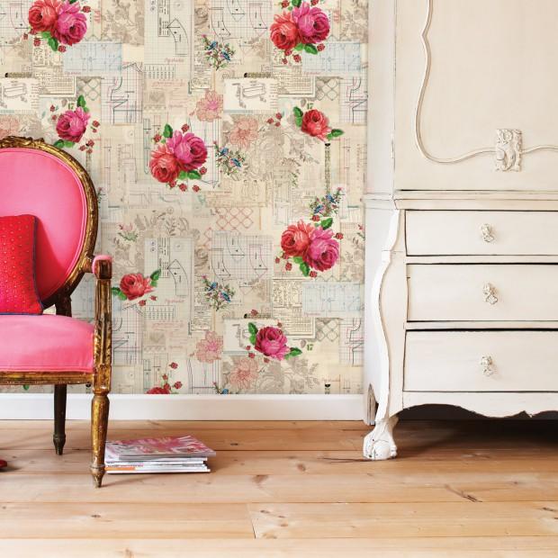 Top 30 kolekcji tapet w romantycznym stylu: zobacz wnętrza jak z baśni