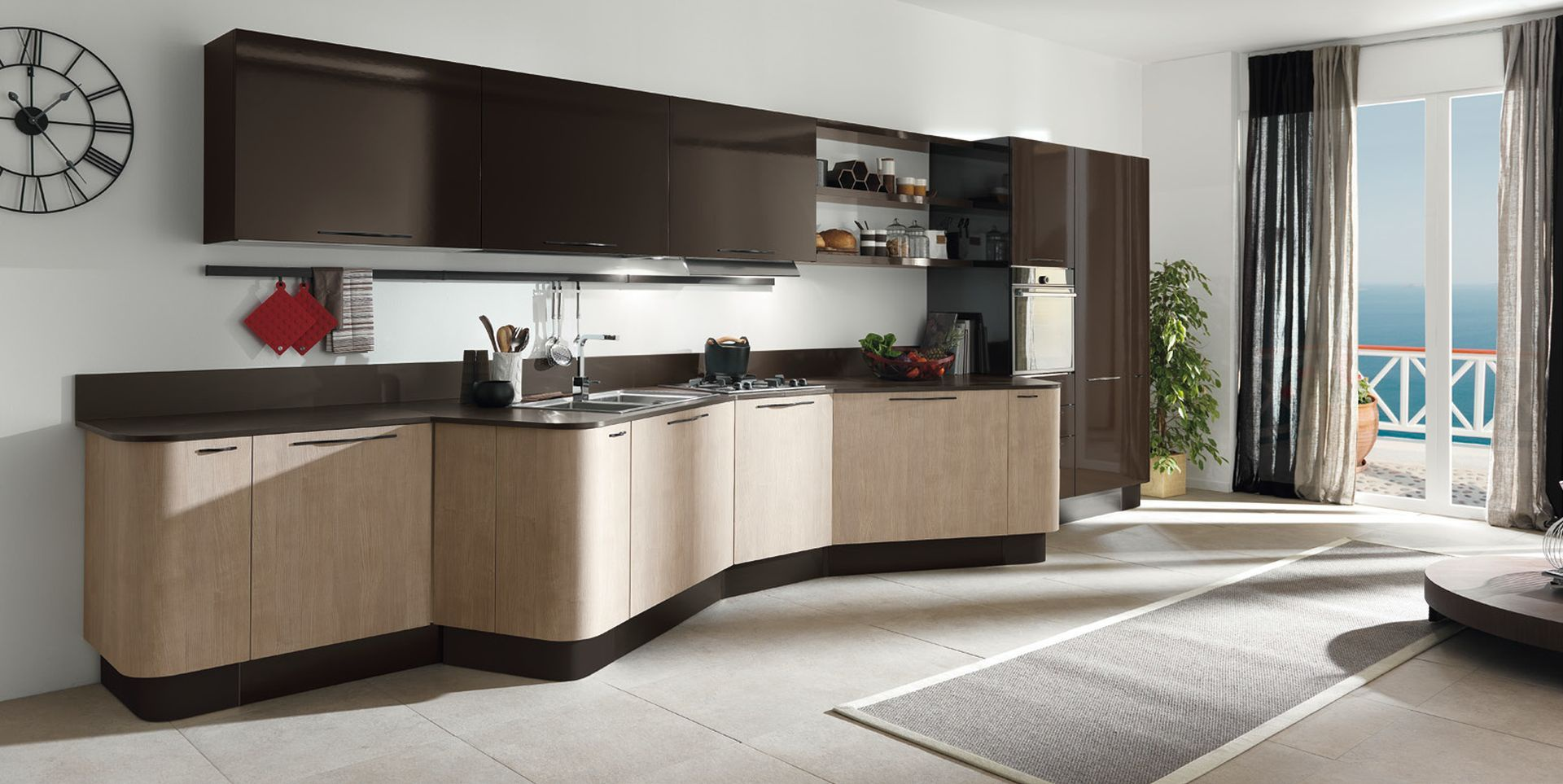 System mebli kuchennych kuchnia na lata ponadczasowe - Cucine lussuose moderne ...