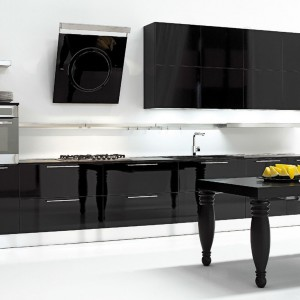 Meble kuchenne z kolekcji Erika marki Aran to świeże spojrzenie na obecne trendy w aranżacji przestrzeni kuchennych. Fot. Aran.