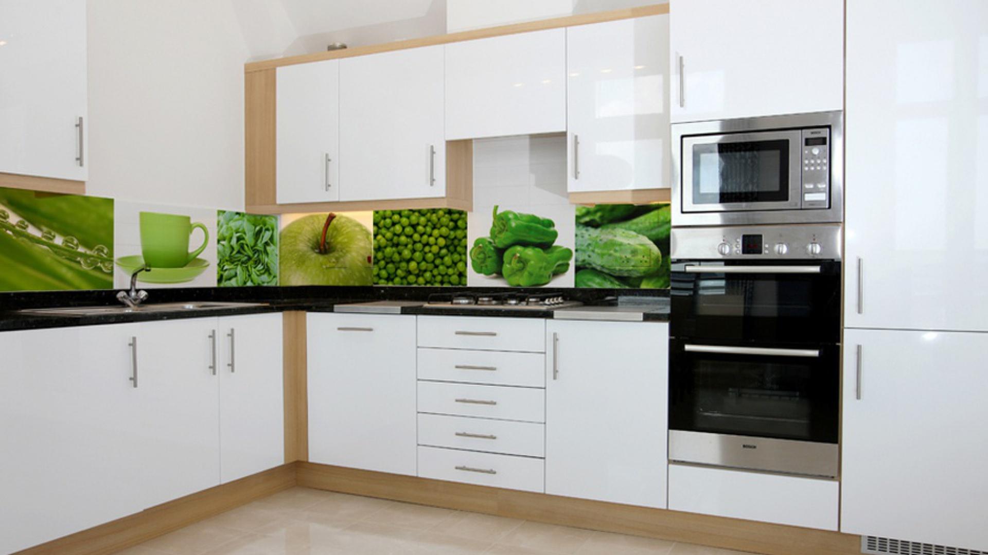 Samoprzylepna fototapeta do Ściana nad blatem 15   -> Kuchnia Z Fototapetą