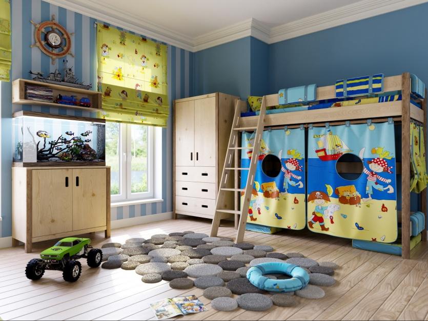 Dywan z połączonych ze sobą kółek różnej wielkości, przypominających kamienie. Fot. Tuiwoa.com.