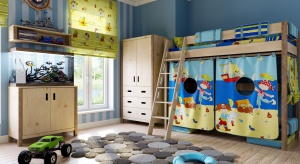 W pokoju dziecka dywan wydaje się być niezastąpiony. Na początku chroni raczkującego malucha przed zimnem bijącym od podłogi, a później stanowi także doskonałą płaszczyznę do zabawy.