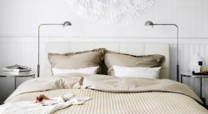 Sypialnia jest miejscem w którym szczególnie powinniśmy zadbać o właściwy dobór oświetlenia. Doskonałym pomysłem są lampy podłogowe, które wprowadzą do wnętrza przytulny nastrój.