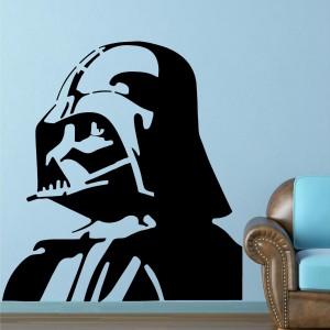 Naklejka ścienna Darth Vader.