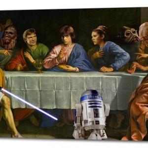 Ostatnia Wieczerza w stylu Star Wars. Produkt dostępny na platformie Ebay.