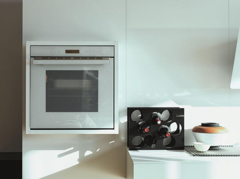 Piekarnik do zabudowy Biała kuchnia ciągle modna Wybierz do niej sprzęt