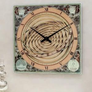 Efektowy zegar Planetarium marki Tonin Casa. Fot. Tonin Casa.