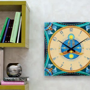 Zegar z serii Scarabeo marki Tonin Casa. Fot. Tonin Casa.