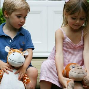 Plecak-zwierzak to uniwersalna zabawka dla chłopca i dziewczynki. Fot. Bobo Buddies.