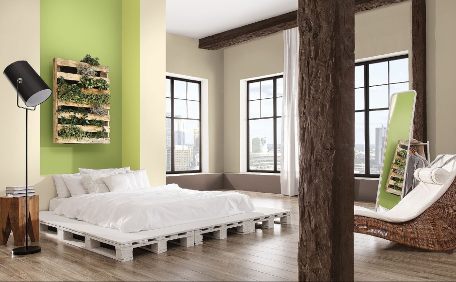 Naturalne inspiracje znalazły się w propozycji marki Magnat na 2014 rok - na zdjęciu trend kolorystyczny Botanika. Fot. Magnat.