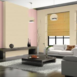 Propozycja marki Jedynka - piaskowy kolor zestawiony z pastelowym różem. Fot. Jedynka.