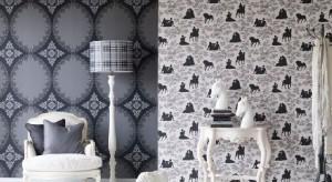Tapety to najlepszy sposób na szybką metamorfozę wnętrza. Te w supermodne czarno-białe wzory sprawią, że pokój nabierze elegancji i nowoczesnego charakteru.