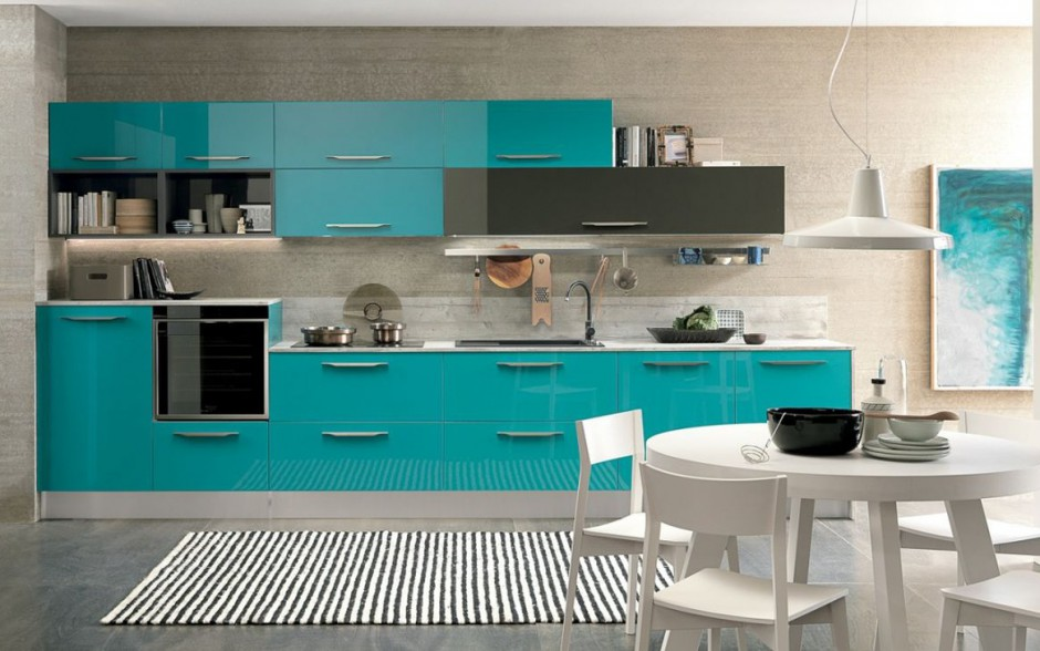 Ice to kuchnia z Kuchnia w kolorze turkusowym Hit   -> Kuchnia W Kolorze