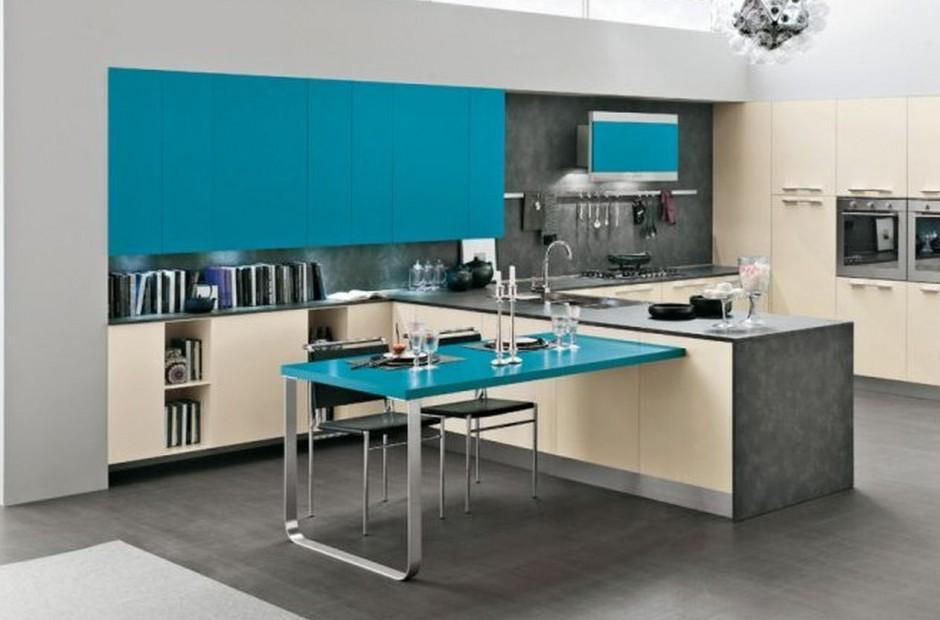 Meble kuchenne z kolekcji Kuchnia w kolorze   -> Kuchnia Otwarta Obrazy