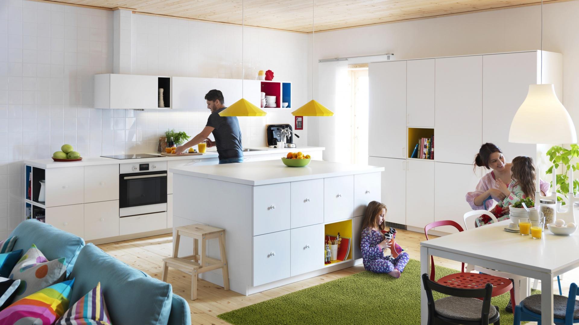 Nowoczesne meble kuchenne bia e meble kuchenne za 10 - Ikea cocina infantil ...