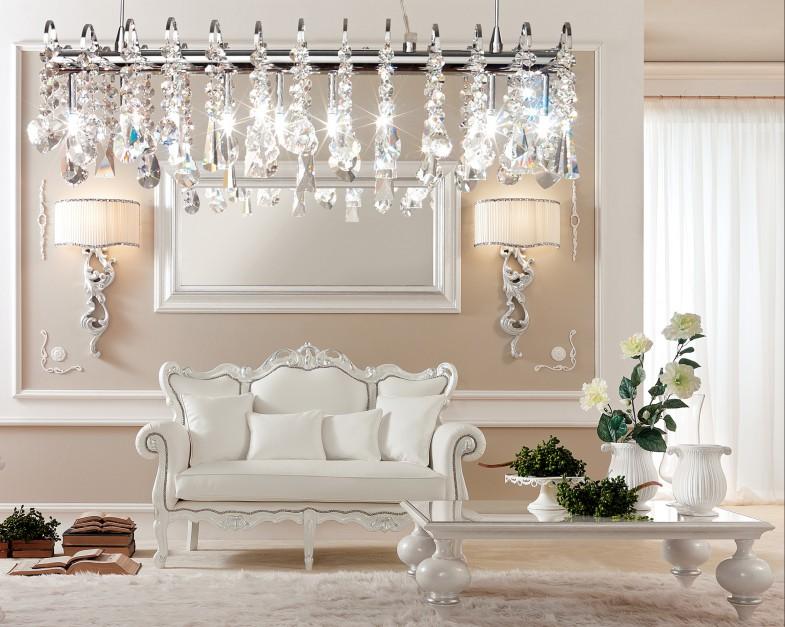 Meble z kolekcji Gotha Italian Luxury Style - nowość z targów Salone del Mobile 2014. Fot. Fabio Luciani.