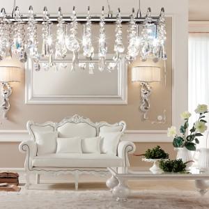Salon w barokowym stylu: chciałbyś tak mieszkać?