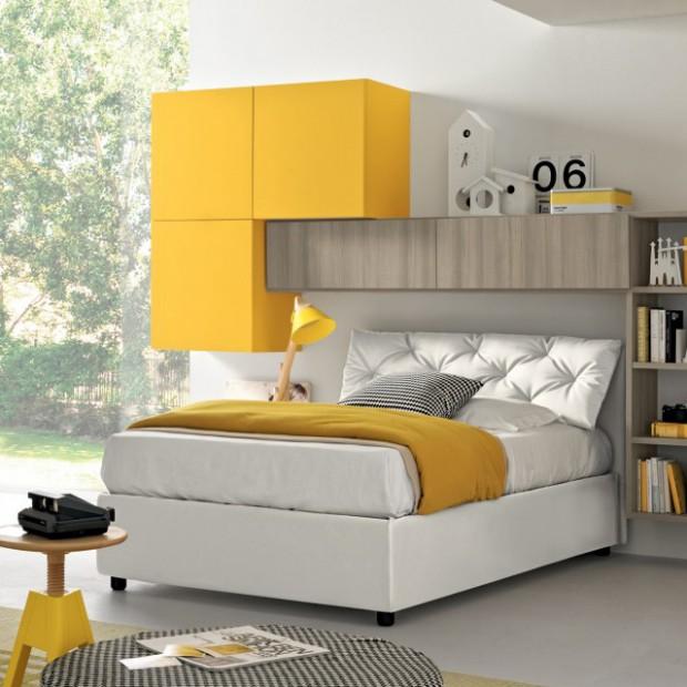 Żółty pokój dziecka. Piękne wnętrza w słonecznym kolorze