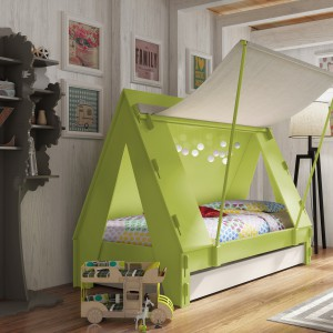 10 nietypowych łóżek dla dzieci. Meble idealne do zabawy