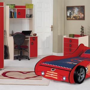 Czerwony kolor nie jest zarezerwowany wyłącznie dla dziewczynek. Fot. Turkish Home.