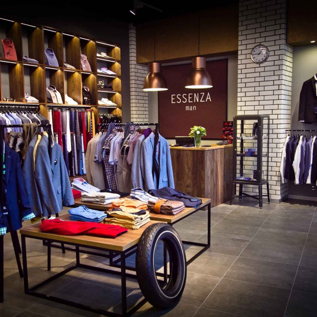 Forbis Group zaprojektował butik Essenza Man