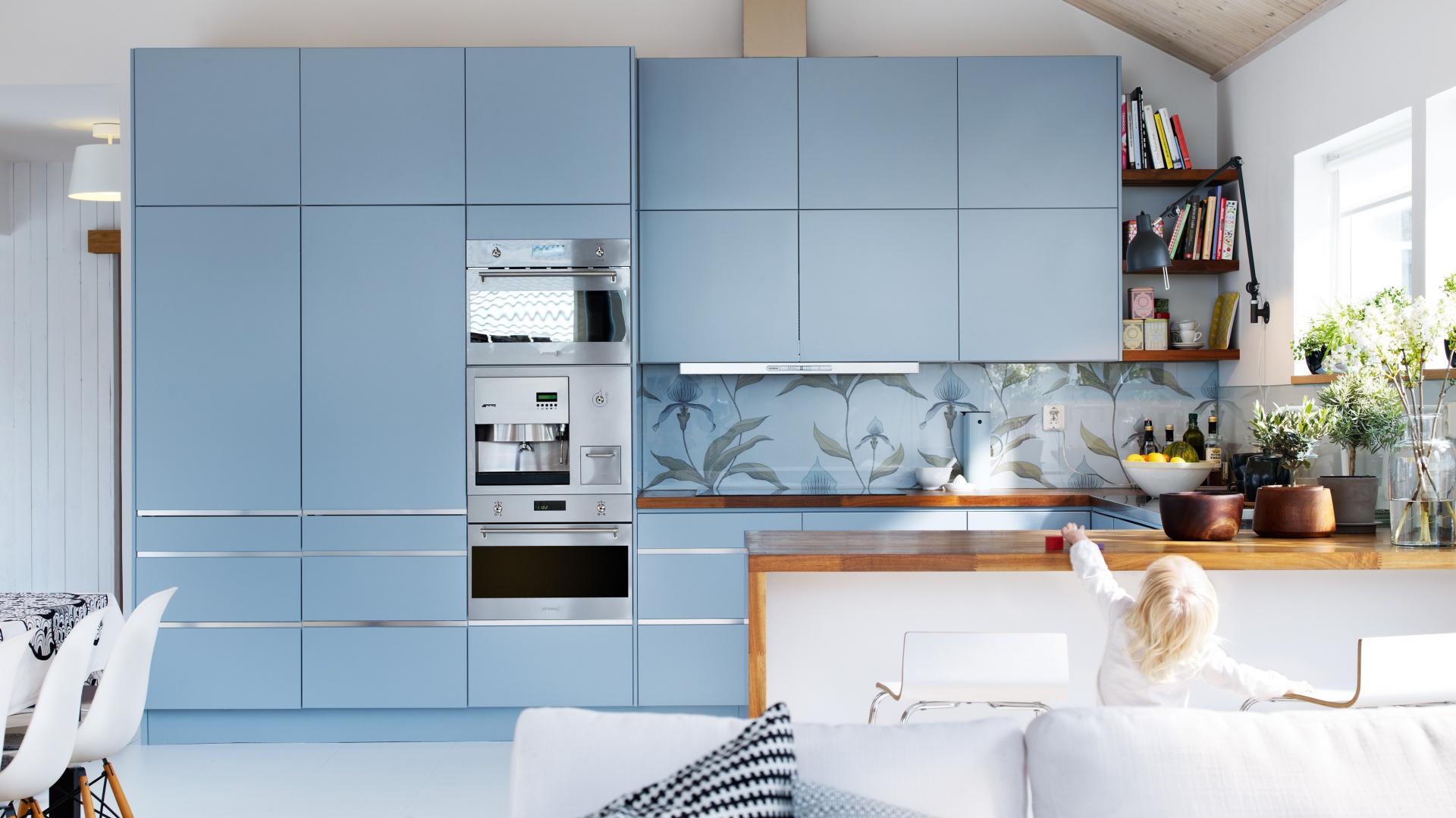 Meble do kuchni z kolekcji Kolor w kuchni 12   -> Kuchnia W Kolorze Niebieskim
