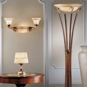 Wytworna kolekcja oświetlenia Alabastro. Fot. Possoni.
