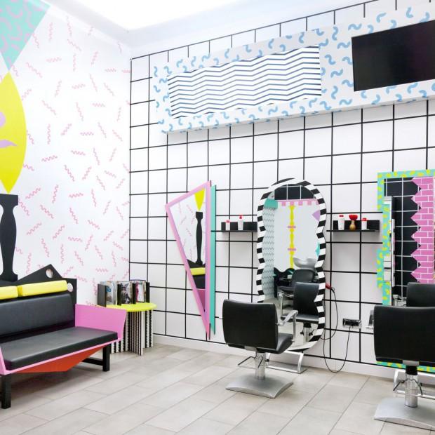 Bo fantazja jest od tego... Salon fryzjerski YMS w Lublanie