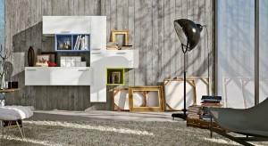 Wielu z nas zastanawia się, jak umeblować niewielki salon. Gdzie ustawić telewizor, książki czy dekoracyjną porcelanę. Rozwiązaniem jest praktyczna meblościanka niewielkich rozmiarów przeznaczona do małych wnętrz.