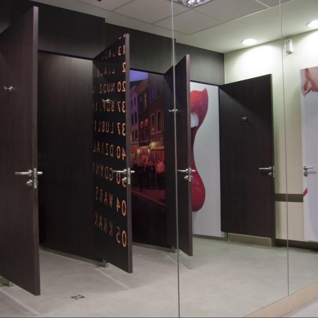 Toalety na Dworcu Centralnym w Warszawie