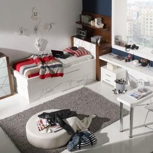 Jasny pokój dla chłopca. Fot. Circulo Muebles.