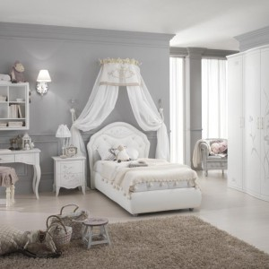 Pokój jak dla małej księżniczki. Fot. Spar.