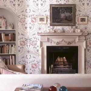 Tapeta Chateau. Fot. Lewis&Wood.