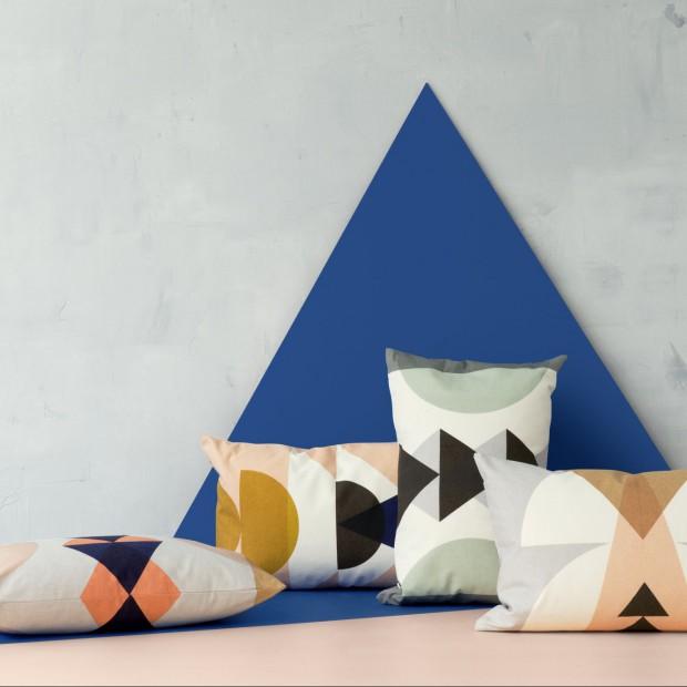 Dekoracja sypialni: polecamy geometryczne inspiracje
