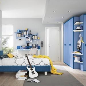 Pomysł na niebieski pokój dla dziewczynki. Fot. Colombini Casa.