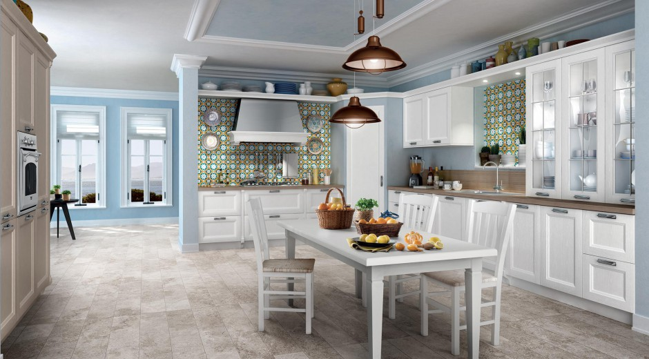 Meble z kolekcji Memory Biała kuchnia 15   -> Biala Kuchnia A Kolor Ścian