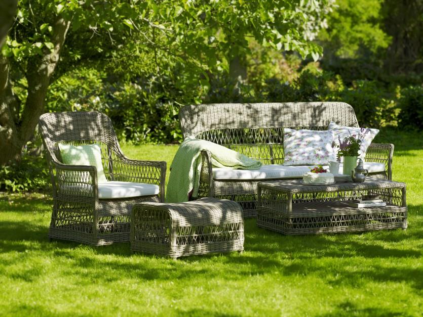 stylowe meble ogrodowe z meble wypoczynkowe do ogrodu