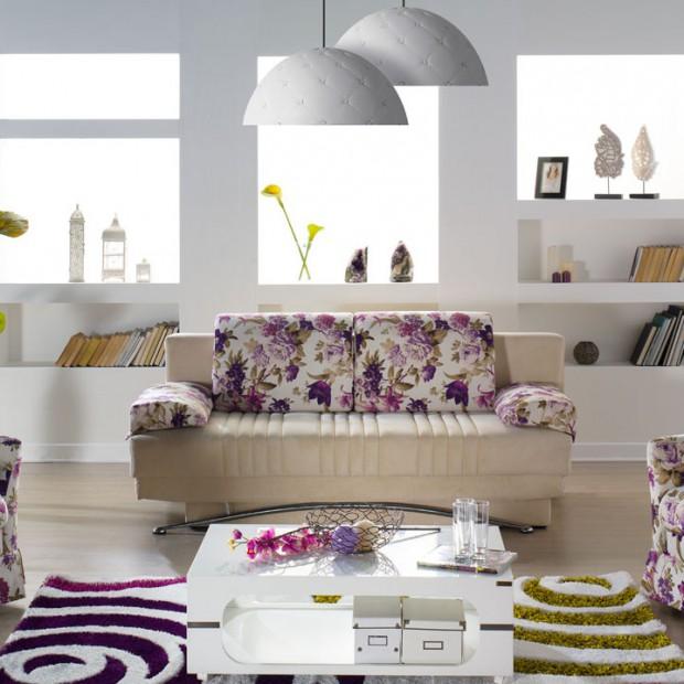 Sofy i fotele w kwiaty. Romantyczne propozycje do pokoju